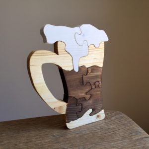 Puzzle bois massif «Pinte»