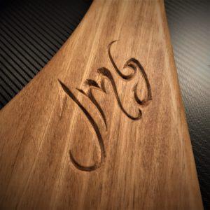 Personnalisation planche ou planchette (Gravure)